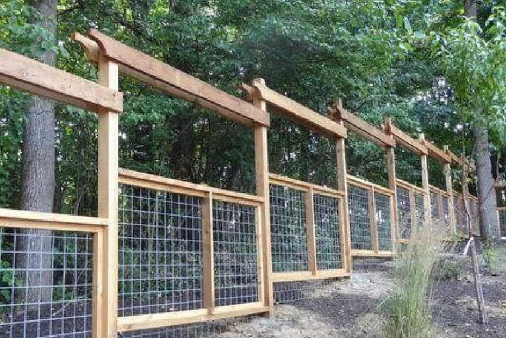 deer proof fence